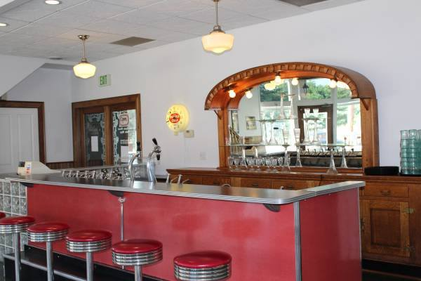 1948 Soda Fountain purchased for Sweet Jeanie's (picture taken in Indiana where it was purchased)