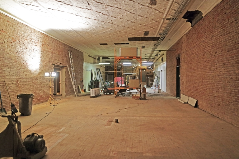 Renovations underway at Sweet Jeanie's