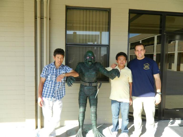 Namgel Sherpa and Thundu Sherpa with Michael Kobold.