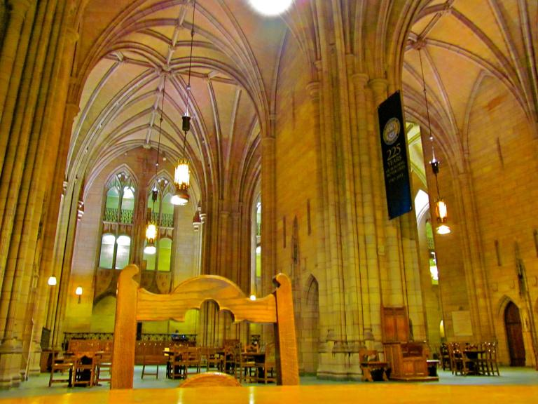 Study Hall in Pittsburgh University's Cathedral of Learning