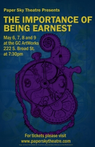 Importance of Being Earnest Poster1