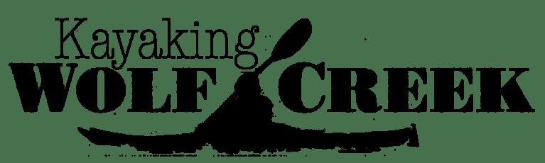 Kayaking Wolf Creek- title