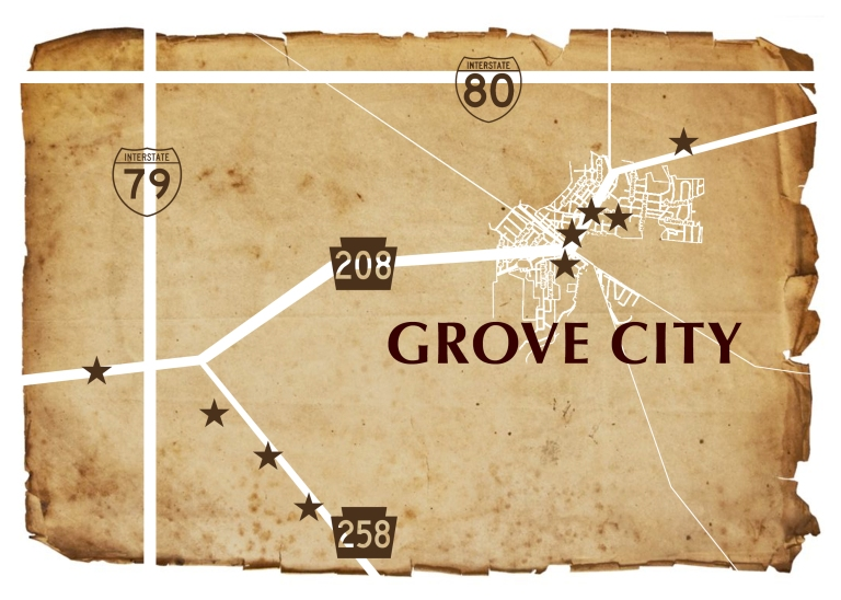 Living the Grove- GC development map 2017